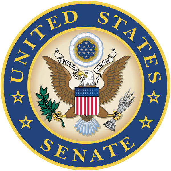 Description: Alternative Seal of the United States Senate often used in place of the official seal.